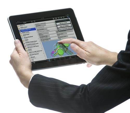 Siemens PLM Software is positioning its Teamcenter Mobility app as a solution for securely delivering Teamcenter-managed product data to users, oftentimes in unconventional locations.