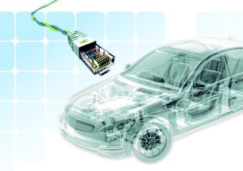 Twisted-pair Ethernet in vehicles would minimize cabling weight while offering 100Mbit speeds. 