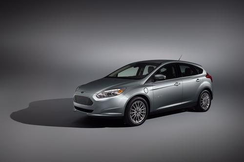Ford's five-passenger Focus Electric will compete head-to-head with Nissan's Leaf. 