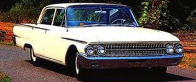 Watch out for the switch on the steering column of this 1961 Ford Fairlane.