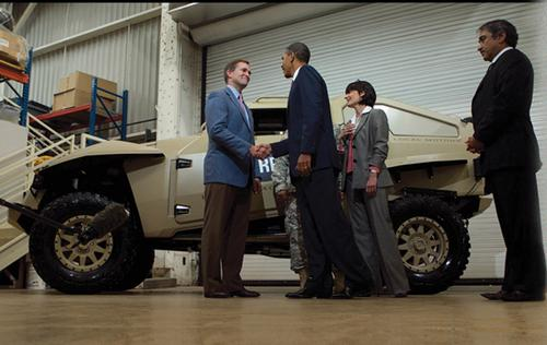 Earlier this year, President Obama lauded Local Motors' unique co-creation approach to vehicle product development, saying it could significantly collapse development time and save taxpayer dollars.    