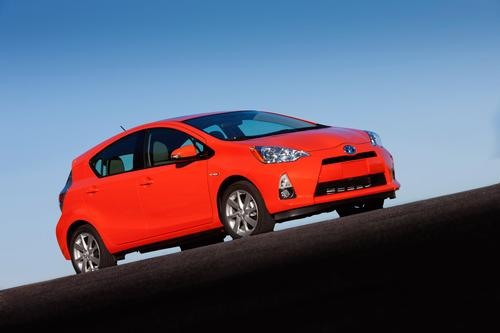 Toyota calls the new Prius c a 'gateway' vehicle for younger, less affluent hybrid adopters. 