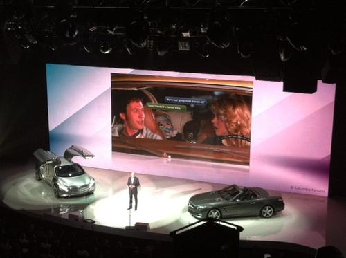 Daimler Chairman Dieter Zetsche talks up Mercedes-Benz's new telematics platform in his CES keynote.