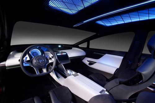 Toyota's NS4 will employ a human-machine interface built around a multitouch screen with the look and feel of a smartphone. Toyota is forming alliances with Microsoft and Intel to create seamless vehicle interfaces. 