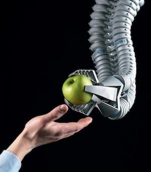 Festo's Bionic Handling Assistant, a mechatronic industrial robot arm, 