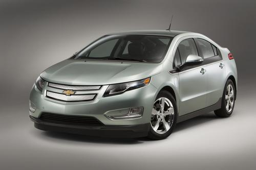 The Chevy Volt plug-in hybrid got the highest score in Consumer Reports' owner satisfaction survey. (Source: General Motors)