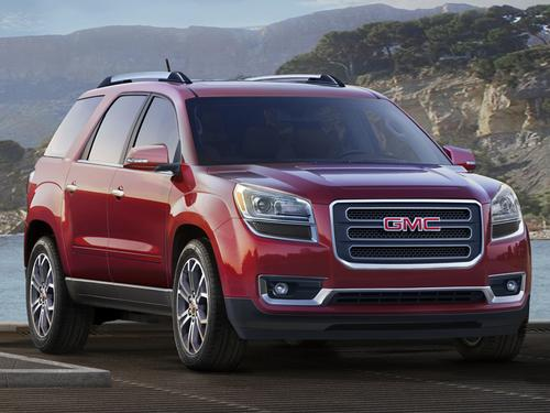 GMC's Acadia will be the first vehicle to offer a center air bag. (Source: GM)