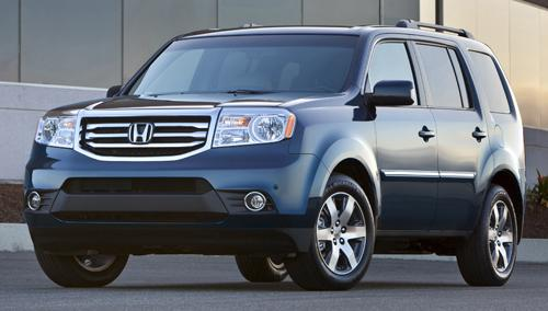 Honda's Pilot: 'Everything is made exactly to fit.'
