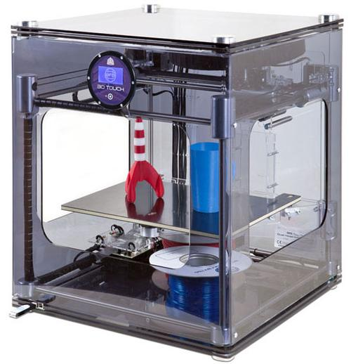 Brought into the line via its acquisition of Bits from Bytes, 3D Systems' 3DTouch is a sub-$4,000, fully-assembled 3D printer, which offers a touchscreen for ease of operation.   (Source: 3D Systems)