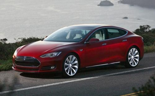 Tesla's Model S is expected to roll out this summer.