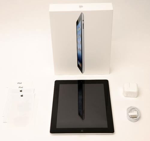 Apple's iPad 3 before the teardown.