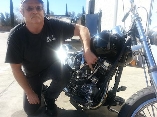 Edward Nauman designed an ignition control unit for the Harley Davidson Panhead Engine from the ground up.