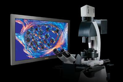 A single-lens 3D microscope imaging system aims to eliminate the eye fatigue and typical discomfort suffered by engineers performing industrial inspection by improving the alignment of stereo 2D images.   (Source: Toshiba Imaging Systems)