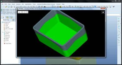 Powered by Autodesk Moldflow injection molding simulation technology, Autodesk Simulation DFM provides real-time feedback through familiar design indicators.   (Source: Autodesk)