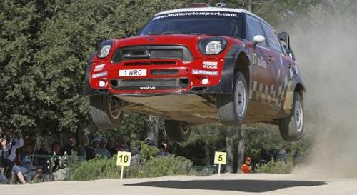 Prodrive uses additive manufacturing to accelerate the development of the MINI John Cooper Works World Rally Car and to reduce production costs.   (Source: Stratasys)