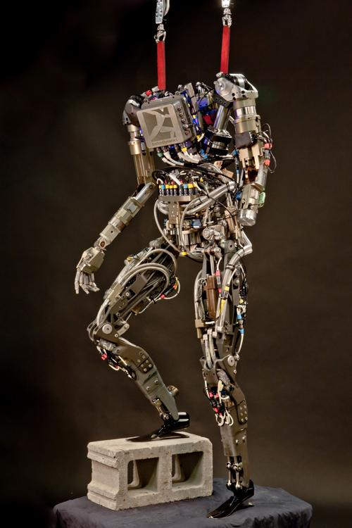 Boston Dynamics developed the first robots that can run and maneuver using motions based on how animals move. The company's Petman, developed to test chemical protection clothing, extends this idea to motions based on human movements. Petman has learned to climb stairs. (Source: Boston Dynamics)