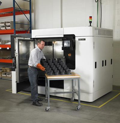 Stratasys' Fused Deposition Modeling (FDM) technology creates functional prototypes and production-class parts via a layered process using engineering-grade thermoplastics.   (Source: Stratasys)
