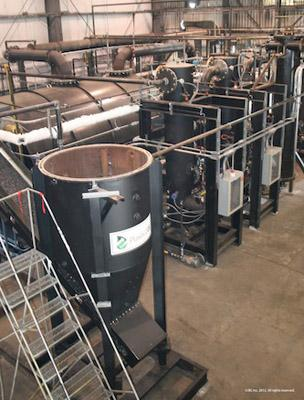 In February 2012 JBI launched its second Plastic2Oil processor, the prototype of the company's commercial rollout.   (Source: JBI)