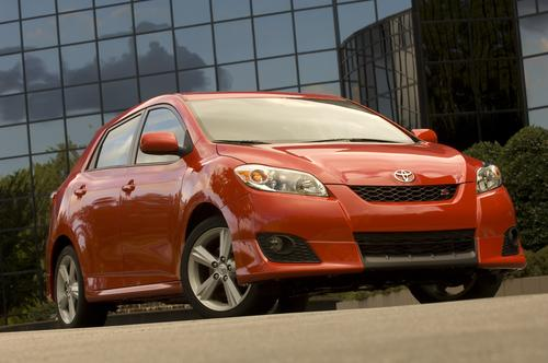 The Toyota Matrix was one of the vehicles that was recalled due to problems with   unintended acceleration in 2010.   (Source: Toyota)