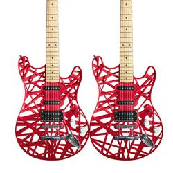 This 3D printed guitar, one of the many creations of Derek Manson, director at the one.61 product development firm, sports a body made from a polycarbonate polymer along with a central core,  which is CNC-machined from wood.   (Source: one.61)