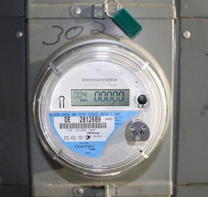 Demand for smart meters will spike over the next eight years, creating a need for microcontrollers and other electronic components.