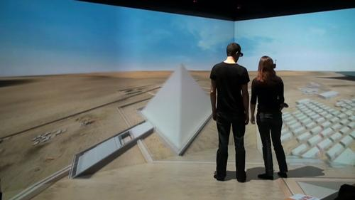 Dassault Systemes and Harvard University are launching a project to explore the use of immersive virtual reality and interactive 3D in the classroom. As such, Harvard Egyptology students are being offered courses using an immersive 3D real-time virtual reconstruction of the Giza plateau.