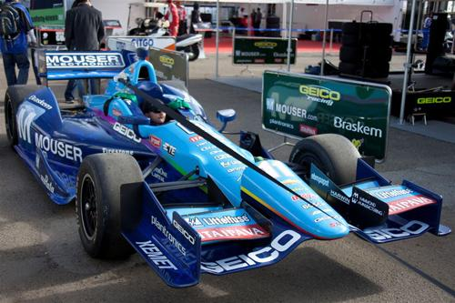 KV Racing Technology will use a Chevy engine in its Indy vehicle driven by Tony Kanaan.   (Source: Littelfuse)
