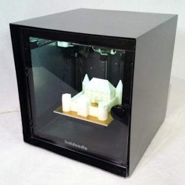 The $499 Solidoodle is fully assembled and supports a slightly bigger build area (six inches cubed) than its predecessor. (Source: Solidoodle)