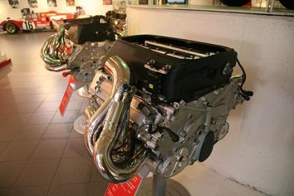 The 12-cylinder engine takes about 20 days to make and undergoes several stages, from mechanical work to heat treatment and finishing.