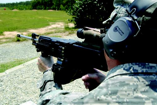 The Army has contracted with Textron to design a lighter-weight machine gun that is getting good reviews with soldiers. The machine gun is 21.5 pounds, or 41 percent, lighter than the M249 SAW, the machine gun currently used in Afghanistan.   (Source: Textron)