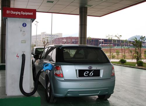 Electric vehicle sales are sluggish in China.   (Source: BYD)