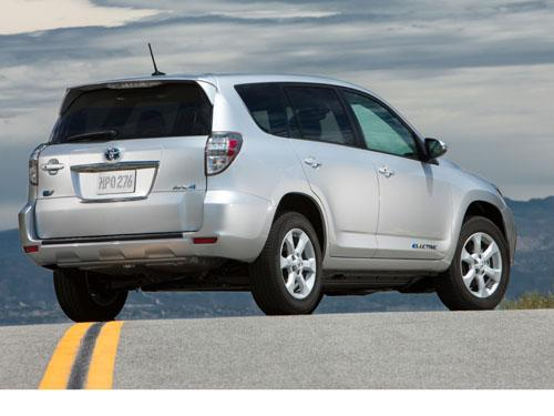 Toyota's RAV4 EV is a niche vehicle for sophisticated early adopters. (Source: Toyota)