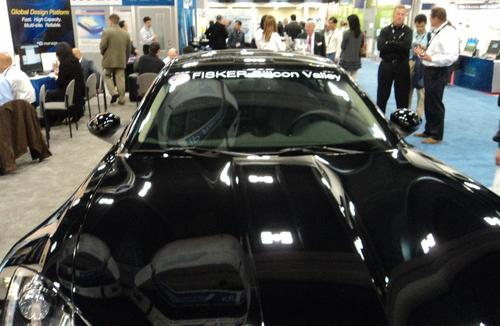 It's not a real tradeshow these days unless someone puts a car on the show floor.