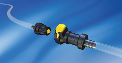 Flow-Rite's quick couplers are designed for industrial, chemical, and medical/life science applications.