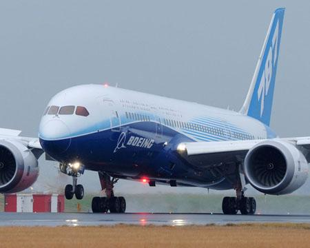 Boeing will continue to explore its use of biofuel to power long-haul flights with an international test flight planned with Air China. Boeing completed a flight from the US to Tokyo with All Nippon Airways in April using a 787 Dreamliner (pictured).