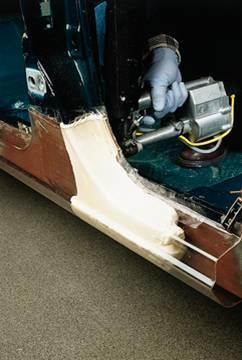 A renewable version of Dow Automotive Systems' polyurethane cavity sealing BETAFOAM system can help cars lose weight and cut noise.   (Source: Dow Automotive Systems)