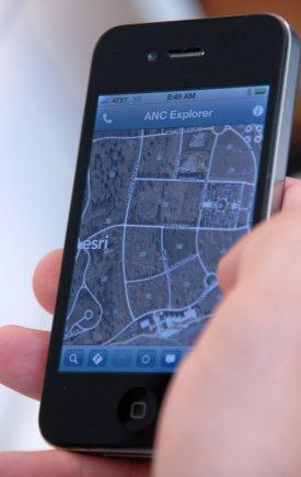 The Arlington National Cemetery Explorer App provides information about burial sites and the people buried there. It is expected to be available in October. (Source: Army)