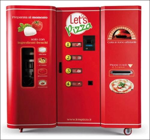 Let's Pizza vending machines will make their American debut in Atlanta in August. (Source: A1 Concepts)