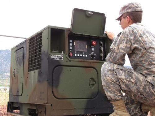 The Army is sending approximately 1,600 AMMPS to Afghanistan over the next year. The new generators are designed to be more fuel-efficient and offer greater reliability than those being used now.   (Source: Army)