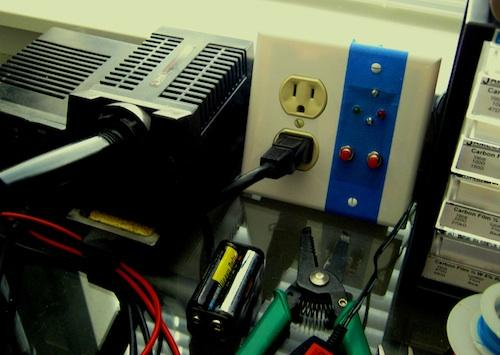 This project may be adaptable and scalable to be installed into an outlet box.