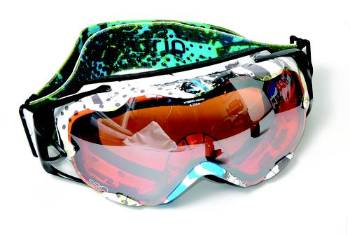 Alpina's RR Goggles incorporate Recon Instruments' micro-display technology.   (Source: Recon Instruments)