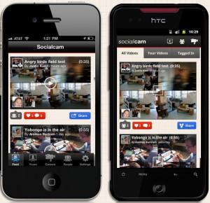 The Socialcam smartphone app and Web-based service makes it easy to capture, edit, and share videos. (Source: Socialcam)