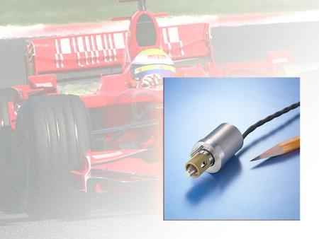 The Lee Co.'s special three-way solenoid valve helps to control the movement of the active rear wing.