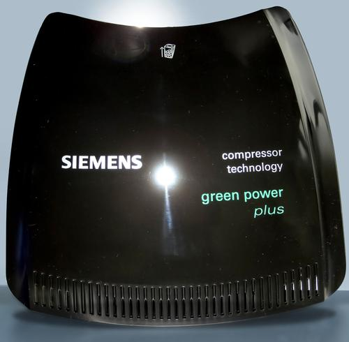 More than 70 percent of an ABS substitute is made from starch, palm oil, and carbon dioxide. The research team used it to manufacture a vacuum cleaner cover to demonstrate its usefulness in consumer products.   (Source: Siemens)