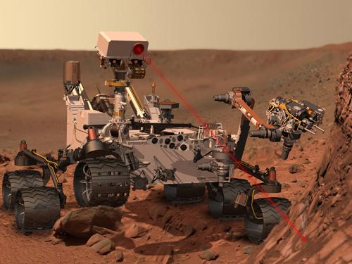 Siemens PLM Software's CAD, CAE, and PLM tools played a pivotal role in the design of the Curiosity rover, which is slated to touch down on Mars at 10:31 p.m. PT on Sunday, Aug. 5. (Source: NASA Jet Propulsion Laboratory)