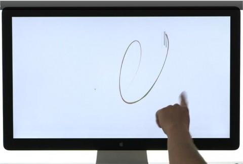 The $69.99 Leap USB peripheral creates a 3D interaction space of eight cubic feet, where users can interact precisely with and control software on a laptop or desktop computer in much the same vein as Microsoft's Kinect technology. (Source: Leap Motion)