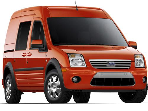 Ford Transit Connect EV -- 62 MPGe (combined city + highway): Ford's Transit Connect is a utility van with a top speed of 75 mph and an all-electric driving range of 80 miles.   (Source: Ford Motor Co.)