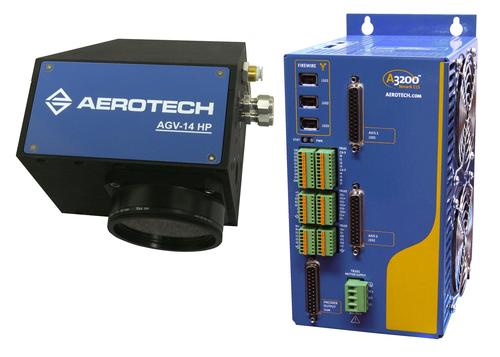Aerotech's advanced galvanometers use optical feedback technology to increase resolution to more than 24 bits. (Source: Aerotech)