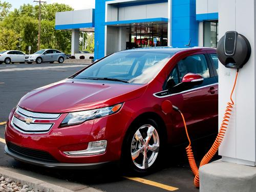The Chevy Volt needs more time to burn off its up-front capital investment. (Source: GM)