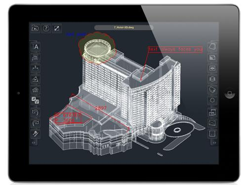 IMSI/Design's TurboReview claims to be the first 2D and 3D mobile mark-up solution to support 3D PDF.   (Source: IMSI/Design)